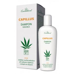 Cannaderm Capillus šampon seborea 150ml