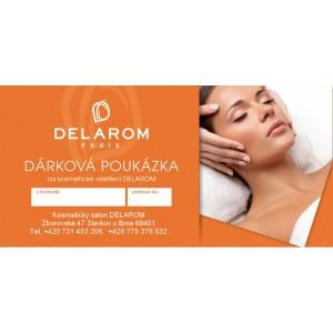 Dárkový poukaz - Kosmetický salón Delarom 1200,-