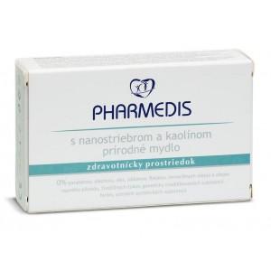 PHARMEDIS antibakteriální mýdlo s nanostříbrem a kaolínem 100g